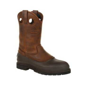 Georgia Boot Men's 11 in. Pull-On Muddog Comfort Core Work Boots, G5514