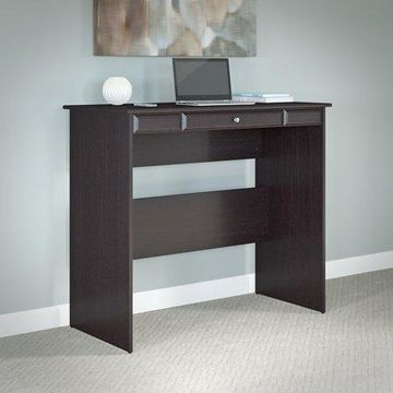Bush Furniture Cabot Standing Desk in Espresso Oak