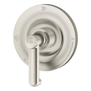 Symmons Museo Satin Nickel 1-Handle Commercial Bathtub and Shower Faucet