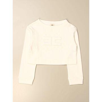 Elisabetta Franchi Sweatshirt In Cotton With Logo
