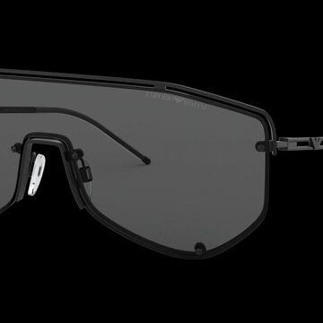 Emporio Armani Man EA2072 - Frame color: Matte Black, Lens color: Grey Classic