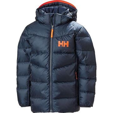 Helly Hansen Juniors' Isfjord Down Mix Jacket - 14 - Navy