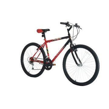TITAN Pioneer 12-Speed Men's Mountain Bike, Red