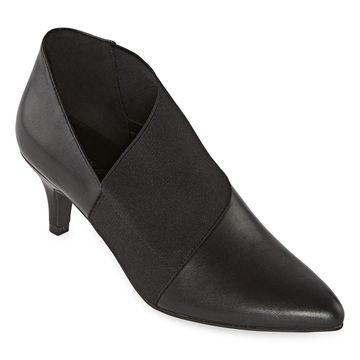 Andrew Geller Womens Vienna Booties Stiletto Heel