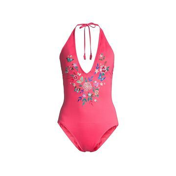 Johnny Was Mariposa One-Piece Swimsuit