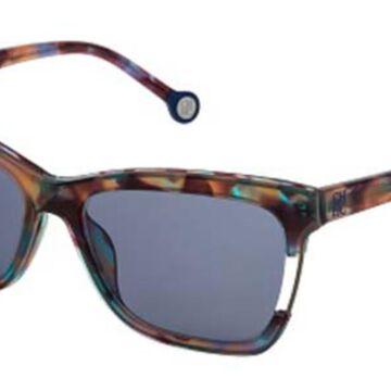 Carolina Herrera SHE752 05AH Men's Sunglasses Tortoise Size 56