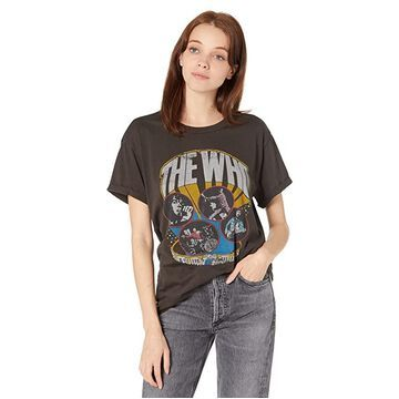 Chaser The Who Recycled Vintage Jersey Crew Neck Tee