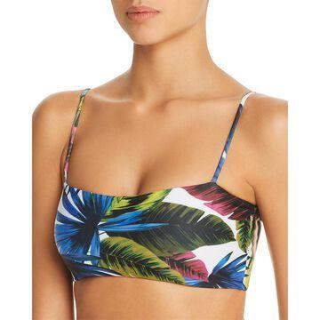 L Space Womens Rebel Printed Bikini Swim Top Separates