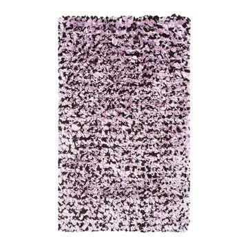 The Rug Market Shaggy Raggy 3 x 5 Shag Pink Solid Area Rug   02257B