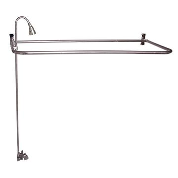 Barclay Polished Nickel 2-Handle Bathtub and Shower Faucet with Valve   4193-48-PN