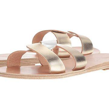 Ancient Greek Sandals Desmos (Platinum/Silver) Women's Sandals