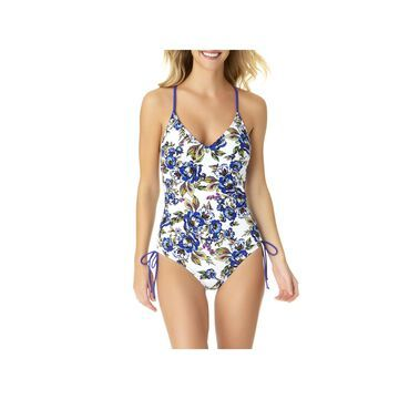 a.n.a Floral One Piece Swimsuit
