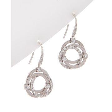 Marco Bicego Goa 18K 0.47 Ct. Tw. Diamond Multi-Strand Hook Earrings
