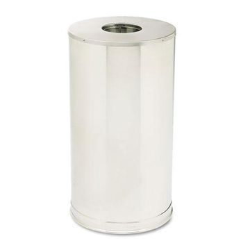 Rubbermaid Round Metal Outdoor Trash Can