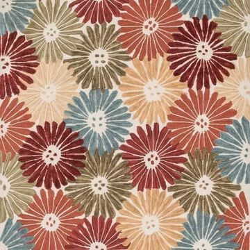 Loloi Rugs Gabriella Collection Floral and Multi, 5'x7'6