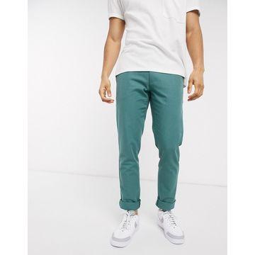 Farah Elm cotton chino pants-Green