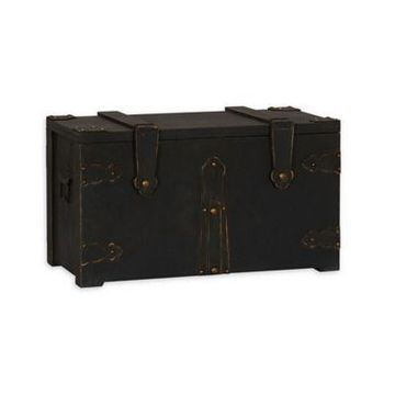 Household Essentials G.O.T. Small Wooden Trunk