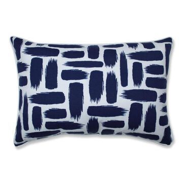 Pillow Perfect Baja Nautical 2-Piece 16.5-in W x 24.5-in L Indoor Decorative Pillow Polyester in Blue