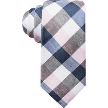 Ryan Seacrest Distinction Men's Cyprie Check Slim Tie, Created for Macy's