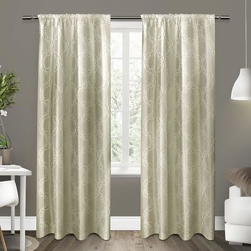 Exclusive Home 2-pack Como Window Curtains