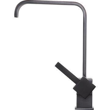ANZZI Sabre Oil Rubbed Bronze 1-Handle Deck-Mount High-Arc Handle Kitchen Faucet | KF-AZ220ORB