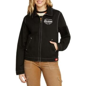 Dickies Zip-Front Contrast-Stitch Jacket