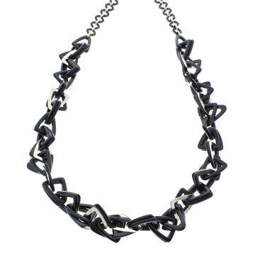 Lafayette 148 New York Womens Long Fashion Chain Necklace