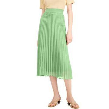 Alfani Pleated Midi Skirt, Created for Macy's