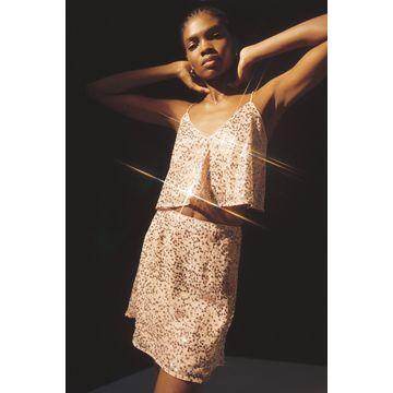 Finders Keepers Selena Sequin Mini Skirt