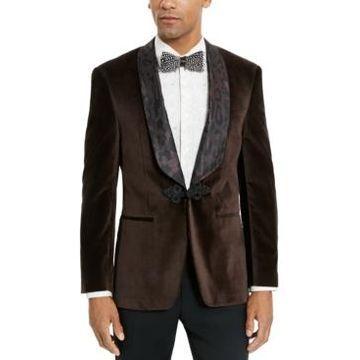 Tallia Men's Velvet Dinner Jacket