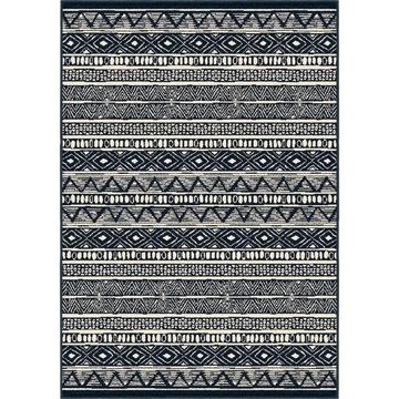 Orian Rugs Farmhouse Indoor/Outdoor Bamba Indigo Rug - 7'9