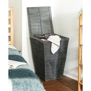 Honey Can Do Coastal Collection Laundry Hamper