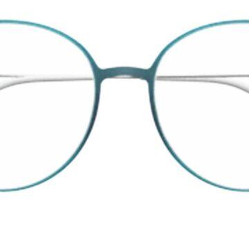 Silhouette 1587 5000 Womenas Glasses Blue Size 51 - Free Lenses - HSA/FSA Insurance - Blue Light Block Available