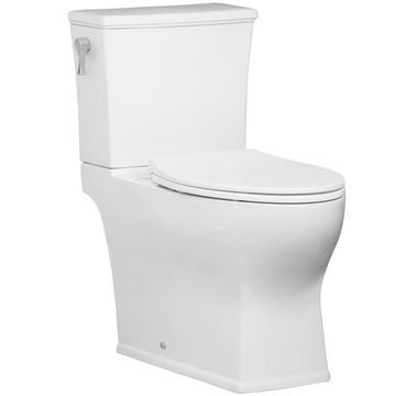 Mirabelle MIRCR200 Carraway 1.28 GPF Two-Piece Elongated Toilet Tank Only with