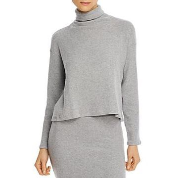 Enza Costa Boxy Turtleneck Sweater