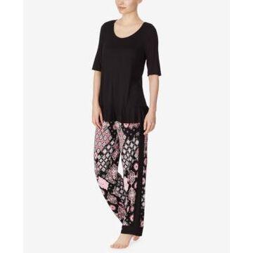 Ellen Tracy Knit Pajama Set