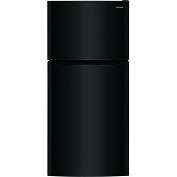 Frigidaire 20-cu ft Top-Freezer Refrigerator (Black)   FFTR2045VB