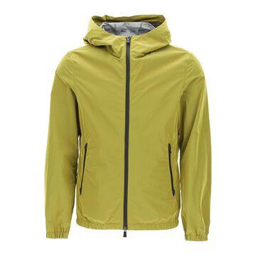 Herno laminar nylon hooded jacket