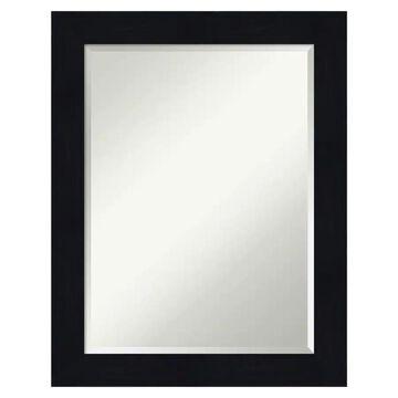 Amanti Art Shiplap Navy Frame Collection 22.25-in Distressed Blue Rectangular Bathroom Mirror | DSW4093621