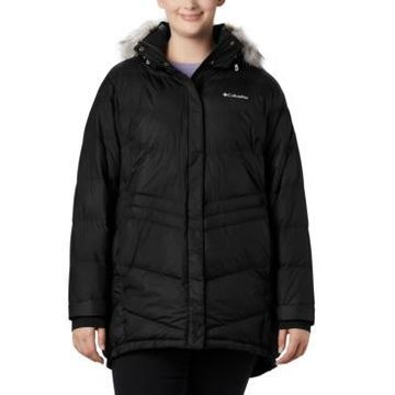 Columbia Plus Size Faux-Fur-Trim Hooded Puffer Coat