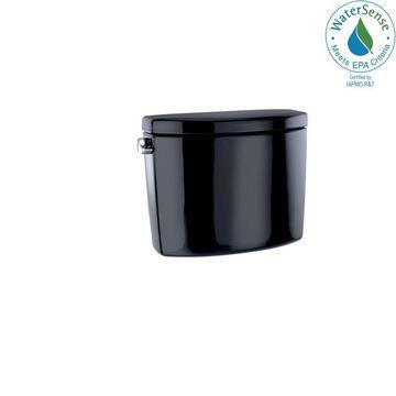 TOTO TOTO Drake II and Vespin II, 1.28 GPF Toilet Tank, Ebony - ST454EA#51 in Black   ST454EA-51