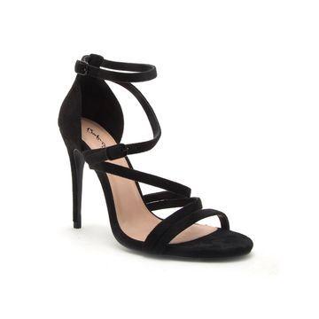 Qupid Womens Diti 33a Heeled Sandals