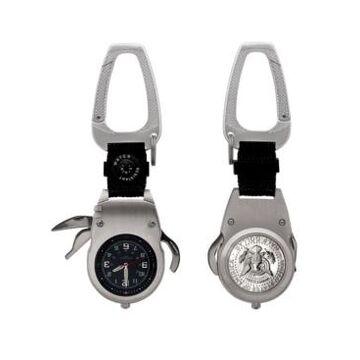 American Coin Treasures Presidential Seal Jfk Half Dollar Coin Multi-Tool Pocket Watch Compass