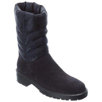 Aquatalia Lori Weatherproof Nylon & Suede Boot