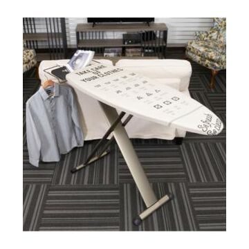 Household Essentials European Ironing Board with Retractable Iron Rest