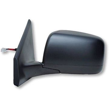 68038N - Fit System Driver Side Mirror for 08-13 Nissan Rogue, 14-15 Rogue Select S, black, PTM, foldaway, w/ out blind spot dection, Heated Power