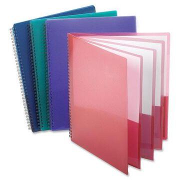 Oxford Wire Binding 8-Pocket Folders