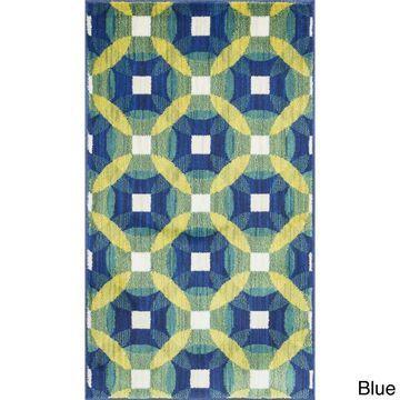 Alexander Home Tinsley Kaleidoscope Rug (1'7 x 2'6)