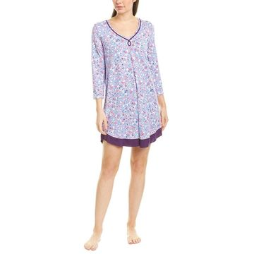 Ellen Tracy Womens Night Shirt