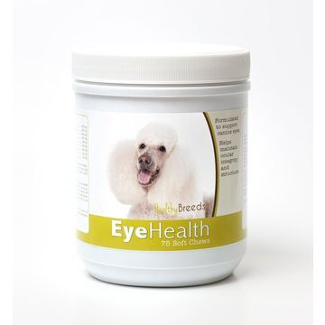 Healthy Breeds 840235145783 Poodle Eye Health Soft Chews - 75 Count